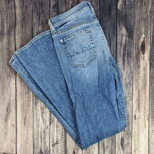 7 for All Mankind Bootcut Rhinestone Jeans 25
